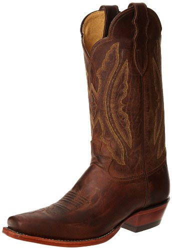 Vintage Goat Cowboy Boots - Justin Boots Women's U.S.A. Domestic Western 12