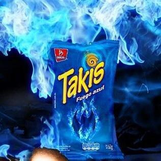 Mini Takis Fuego Azul (25 Bags-1.2oz) limited edition ...