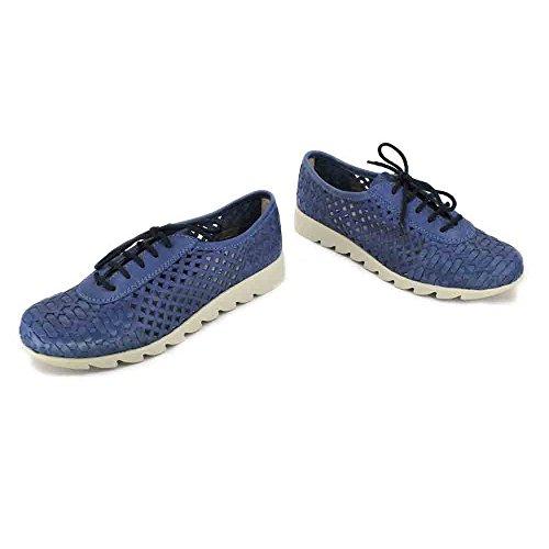 The Denim Chaussure Lacez Lecteur de vers Le Womens Flexx Haut rRZx4r