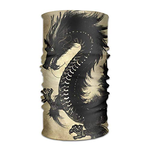 Men Women Customize Headbands Dragon Paintings Seamless Outdoor Sport Workout Yoga Magic Multifunctional Headscarves Bandanas Face Wraps Neck Gaiter -