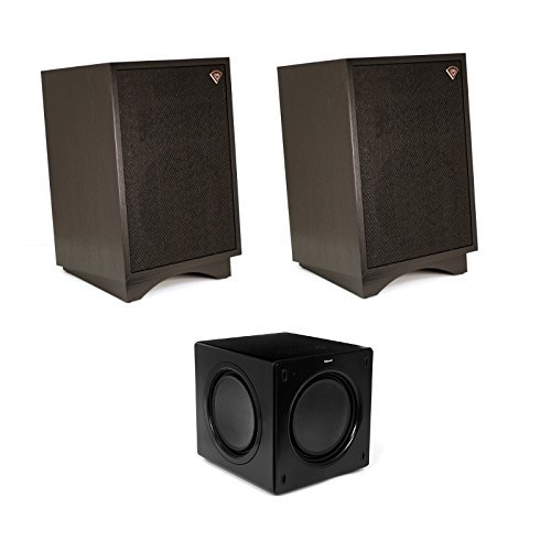 Klipsch Heresy III Heritage Series Speakers (Black) with Klipsch SW-311 Subwoofer Package by Klipsch