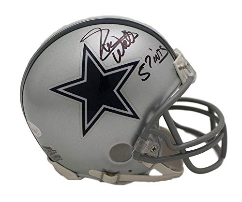 Everson Walls Autographed/Signed Dallas Cowboys Mini Helmet 57 INTs JSA