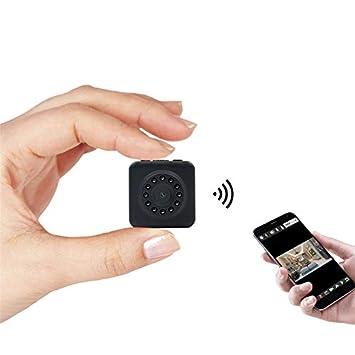 TOOGOO WiFi Cámara Mimi HD 1080P Y Sensor De Movimiento Mini ...