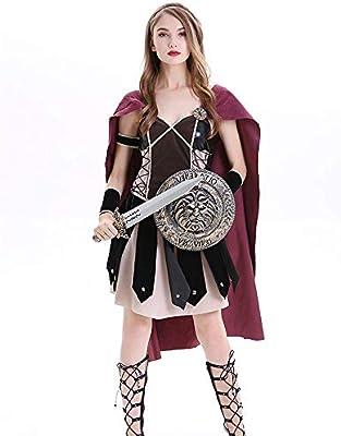 Disfraz Carnaval, Halloween Adult Fighting Warrior Cosplay Falda ...