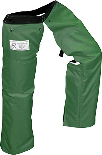 Forester Chainsaw Chaps Zipper Style - Forest Green Regular