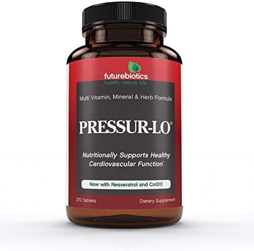 Futurebiotics Pressur-Lo, 270 Vegetarian Tablets