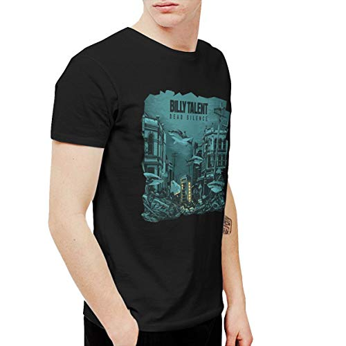 Kangtians URAHARA Billy Talent Dead Silence Short Sleeve T-Shirt Black XXL ()