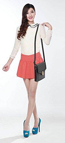 Grey CWRM140929 CWRM140928 Fashion Faux CWS00431 Cross Quality Designer Small Shoulder Bags Celebrity Ladies Leather Body Handbag Women's 1w6qaa