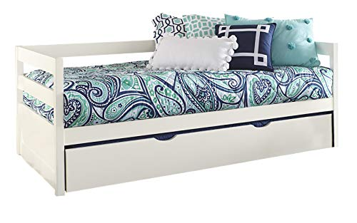 Hillsdale Furniture Hillsdale Caspian Daybed with Trundle, Twin, White from Hillsdale Furniture