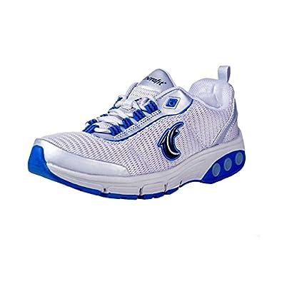 Therafit Shoe Women's Deborah Walking Sneaker 6.5 Silver