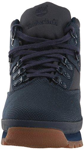 Timberland Euro Hiker Fabric Boot (Toddler/Little Kid/Big Kid) Black Iris