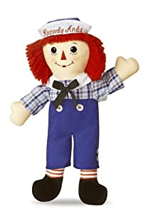 Aurora World Raggedy Andy Classic Doll 16""