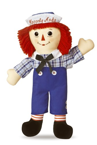 Set Andy Doll (Aurora World Raggedy Andy Classic Doll 16