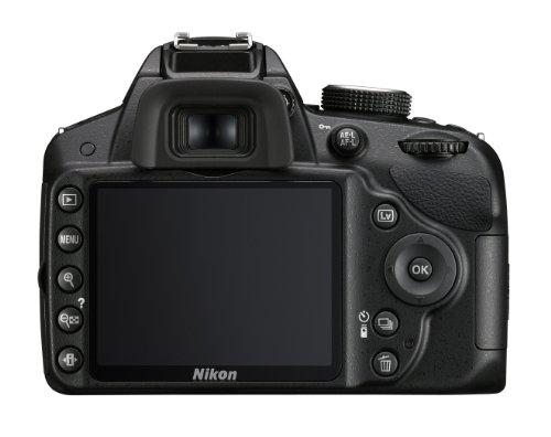 Nikon D3200 24.2 MP Digital SLR Camera (Body Only) - International Version (No Warranty) (Black, Open Box)