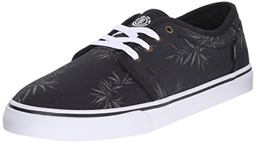 element Men's Darwin Skate Shoe, Black Nam Palm, 11.5 M US