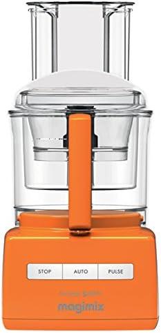 Magimix CS 5200 XL Premium - Robot de cocina (Naranja, Extra, Mezcla, Acero inoxidable): Amazon.es: Hogar