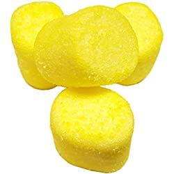 Sugared Marshmallows Yellow 1 Pounds 50 Pieces-Yellow Candy