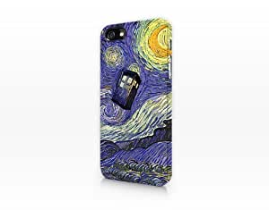 Doctor Who - British Police Box - Vincent Van Gogh Iphone 6 plus 5.5 Case Iphone 6 plus 5.5s case Hard Plastic