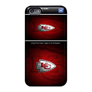 Apple Iphone 6 Plus ZCL6859oQAy Custom Realistic Kansas City Chiefs Image Protective Phone Covers -CharlesPoirier