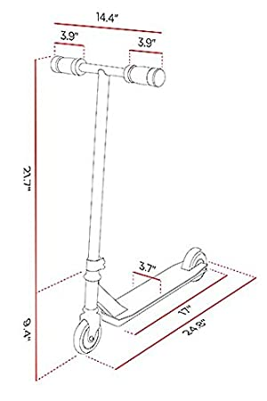 Razor Electric Scooter Diagram