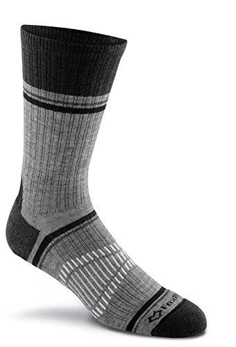 FoxRiver Peak Series Ridgeline Merino Wool Socks, BLACK, Large