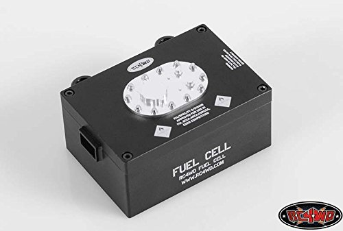 RC4WD Z-S1093 RC4WD Billet Alum Fuel Cell Radio Box Black