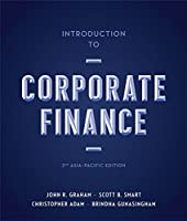 Introduction to Corporate Finance: 2nd Asia-Pacific Edition Front Cover