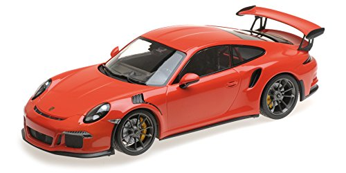2015 Porsche 911 GT3 RS Lava Orange Limited Edition to 2,004 pieces Worldwide 1/18 Diecast Model Car by Minichamps 155066220