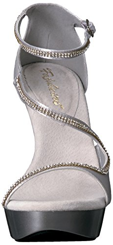 Pleaser USA Shoes - COCKTAIL-526 - 39 - Argent