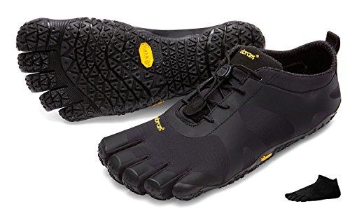 « chaussettes pieds V Avec nus pour femme orteils nbsp;Chaussures Vibram FiveFingers » noir randonnée de Alpha noir à YBnO0