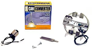 """The Can Converter R4 Recessed Can Light Conversion Kit for 4"""" Recessed Cans"""