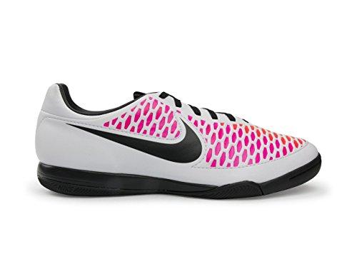 Nike Heren Magista Onda Indoor Wit / Zwart / Roze Blast / Volt Blanc Voetbalschoenen