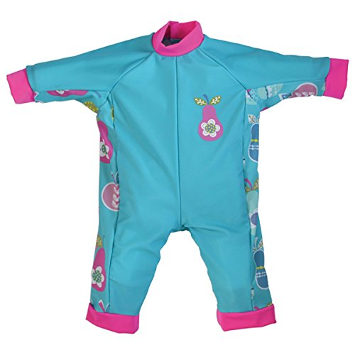 [Splash About Children's UV All In One Eczema Suit (Tutti Frutti, 0-3 Months)] (0-3 Month Swimming Costumes)