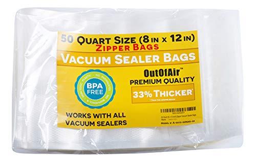 vacuum sealer bags zipper - 3