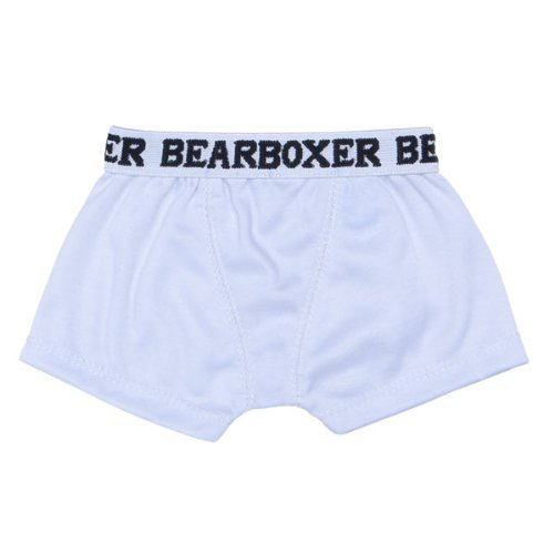 Build-a-Bear Workshop White BEARboxers Teddy Bear Clothing