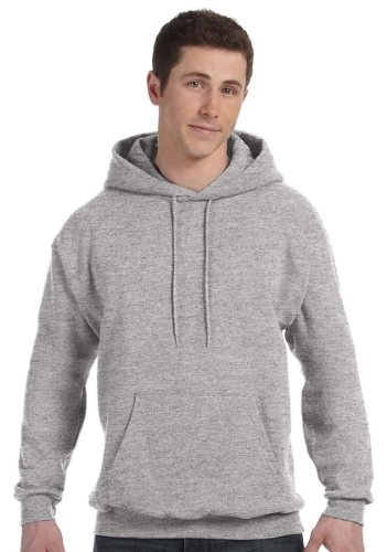 Hanes Comfortblend Pullover Fleece (Hanes ComfortBlend EcoSmart Men`s Pullover Hoodie Sweatshirt Medium Light Steel)