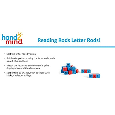 hand2mind Jumbo Alphabet Linking Letter and Word Building Cubes for Early Reading (Set of 28): Industrial & Scientific
