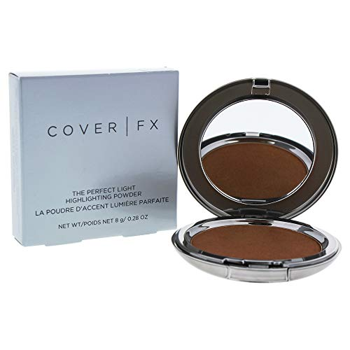 Cover Fx The Perfect Light Highlighting Powder – Candlelight By Cover Fx for Women – 0.28 Oz Highlighter, 0.28 Ounce