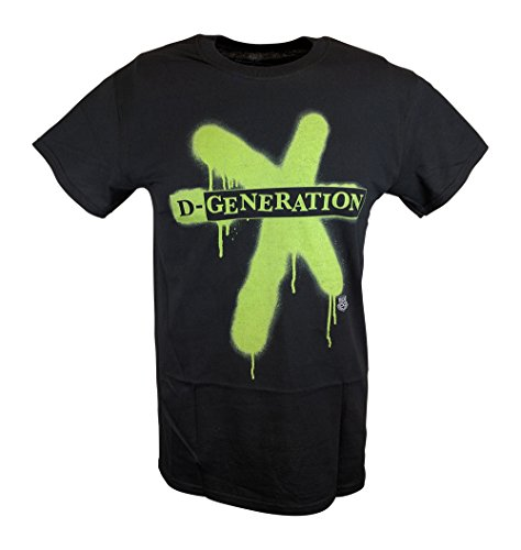 DX D-Generation X Splatter Logo WWE Mens T-shirt-5XL by WWE
