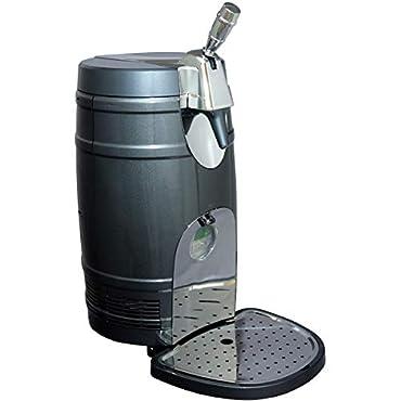 Koolatron Beer keg Dispenser, Gray (BKC5L)