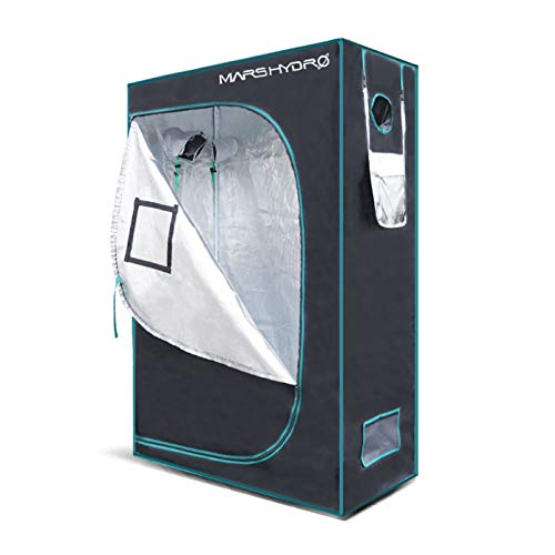 $137.99 indoor grow tent setup MarsHydro Grow Tent 24″x48″x70″ Reflective Mylar Hydroponic Grow Tents for Indoor Plant Growing 2'x4′ (MARS HYDRO 24″x48″x70″) 2019