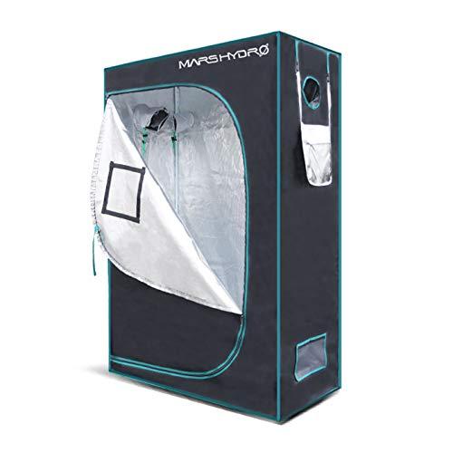 $137.99 indoor grow tent setup MarsHydro Grow Tent 24″x48″x70″ Reflective Mylar Hydroponic Grow Tents for Indoor Plant Growing 2'x4′ (MARS HYDRO 24″x48″x70″) 2019