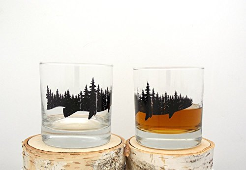 Whiskey Glasses Forest 10 5oz Tumblers product image