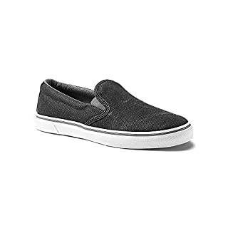 Eddie Bauer Women's Haller Slip-On, Black Regular 6.5M