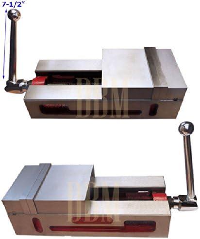 "6/"" SUPER-LOCK PRECISION CNC VISE .0004/"" NC//CNC MILLING NEW"