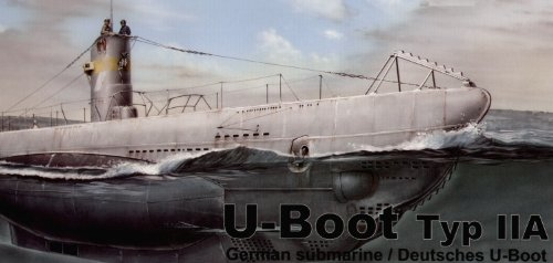 (Special Hobby Special Navy U-Boat Type II A German Submarine)