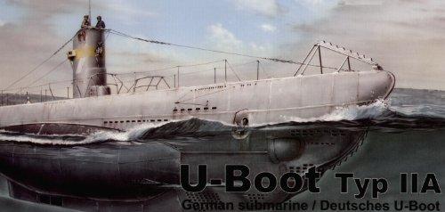 Navy U-boat Type - Special Hobby Special Navy U-Boat Type II A German Submarine
