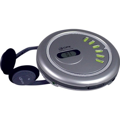 GPXPC332B - GPX PC332B Personal CD Player by GPX (Gpx Pc332b Personal Cd Player compare prices)