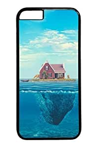 For HTC One M8 Phone Case Cover -House on the ocean Custom PC Hard For HTC One M8 Phone Case Cover BlackKimberly Kurzendoerfer