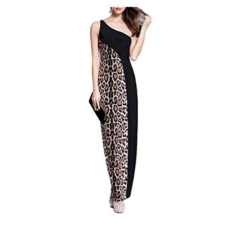 Leopard Print Maxi Dress - 4